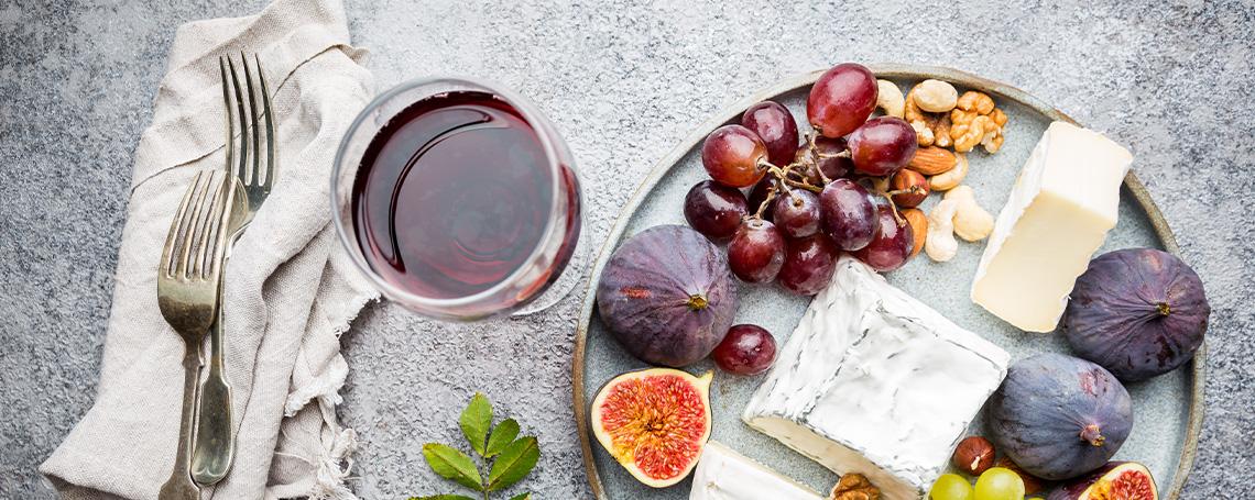 Plats et vins